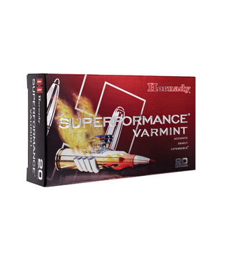 HORNADY Superformance Varmint 22-250REM 50GR V-MAX