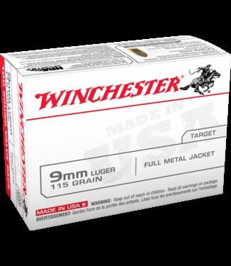 WINCHESTER USA Target 9MM 115GR (BRASS) [100RND VALUE PACK]