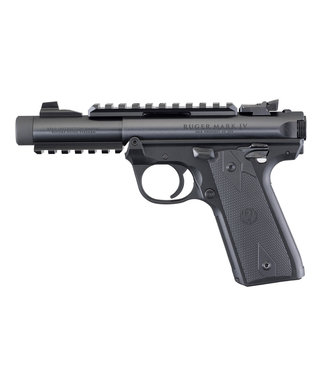 "RUGER Mark IV™ 22/45™ Tactical  22LR 4.40"" BBL"