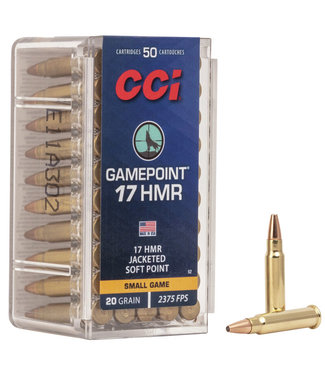 CCI Gamepoint 17 HMR 20GR