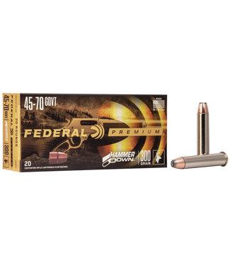 FEDERAL Hammer Down 45-70 GOV'T 300GR