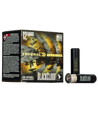 """FEDERAL AMMO BLACK CLOUD FS STEEL 12GA 3.5"""" 1 1/2OZ #2 [1500FPS]"""