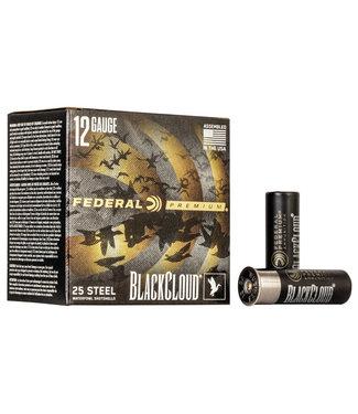 """FEDERAL AMMO BLACK CLOUD FS STEEL 12GA 3"""" 1 1/4OZ #BB [1450FPS]"""