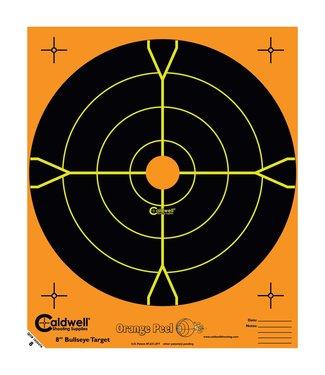 "CALDWELL Caldwell Orange Peel 8"" Bullseye Targets [5-pack]"