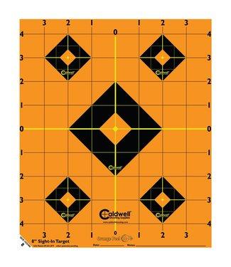 """CALDWELL Caldwell Orange Peel 8"""" Sight-In Targets [5-pack]"""