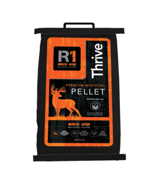 RACK ONE R1 Thrive Pellet Deer Feed [20lb]