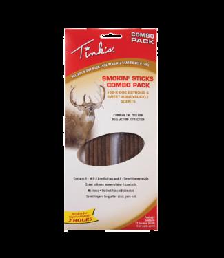Tink's® Smokin' Sticks #69-X® & Sweet Honeysuckle Combo Deer Scent