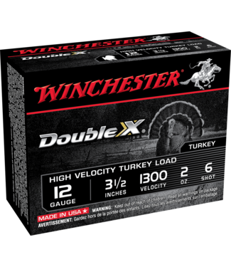 """WINCHESTER Supreme Double X 12GA 3.5"""" 2OZ #6 [1300 FPS]"""