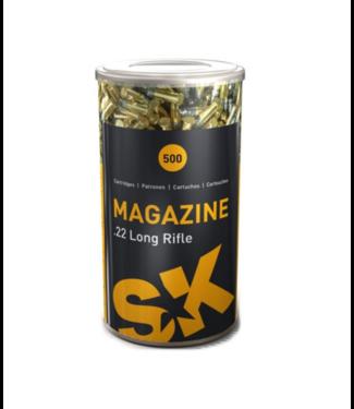 Lapua SK Magazine 22LR 40GR LRN 1072FPS [500RND Pack]