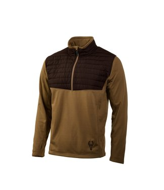 BADLANDS BADLANDS MEN'S MOOSE QUILT 1/4 ZIP