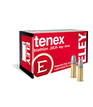 Eley Tenex Biathalon 22LR 40GR [1160 FPS]