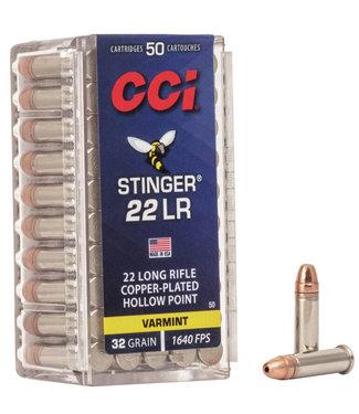CCI CCI  Stinger 22 LR 22LR 32GR CPHP [1640 FPS]