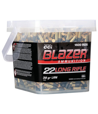 BLAZER Blazer® Rimfire 22 LR 38GR LRN [1235 FPS] [1500 RND BUCKET]