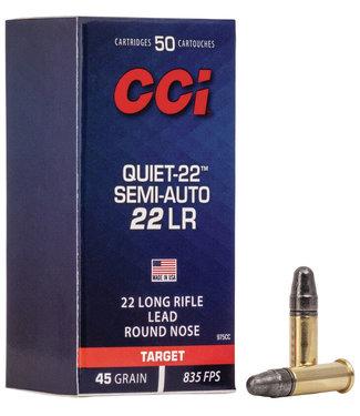 CCI CCI  Quiet-22 Semi-Auto 22LR 45GR [835 FPS]
