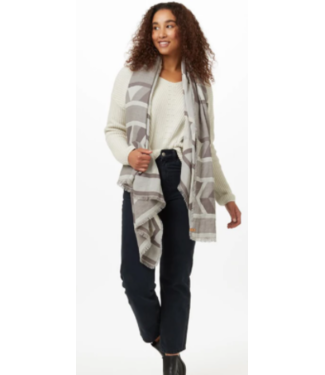 TENTREE TENTREE COTTON INTARSIA BLANKET SCARF