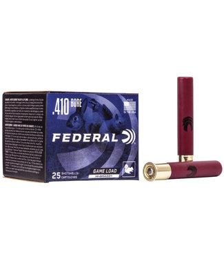 """FEDERAL Game Load Upland Hi-Brass 410GA 3"""" 1 1/16OZ #7.5"""