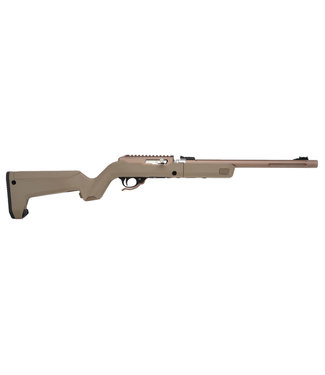 """TACTICAL SOLUTIONS X-RING TAKEDOWN VR Rifle [Quicksand] 22LR 16.1"""" BBL"""
