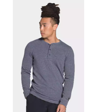 THE NORTH FACE THE NORTH FACE MENS LONG SLEEVE TERRY HENLEY