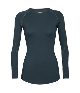 ICEBREAKER Icebreaker Women's BodyfitZone™ Merino 260 Zone Long Sleeve Crewe Thermal Top