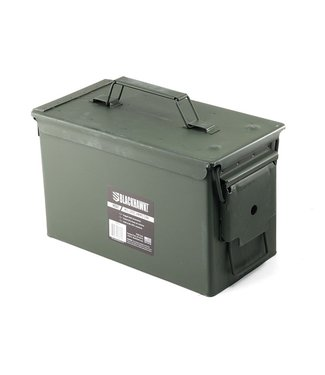 BLACKHAWK M21 50CAL AMMO CAN  OLIVE DRAB [NEW/UNISSUED]