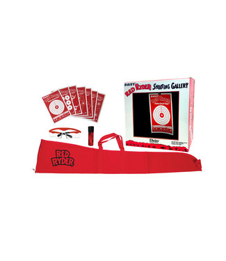 RED RYDER DAISY RED RYDER GALLERY/SHOOTING KIT COMBO