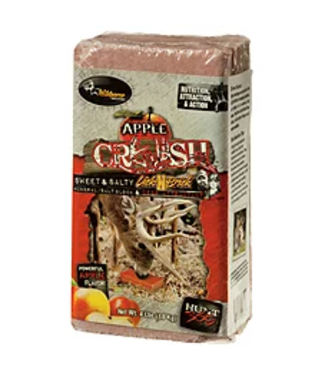 EVOLVED INDUSTRIES Apple Crush  Block Deer Mineral Attractant [4lbs]