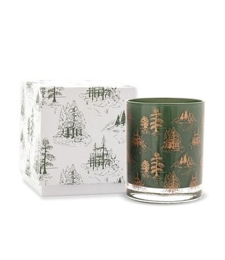 PADDYWAX PADDYWAX 7OZ BOXED CYPRESS & FIR GLASS CANDLE