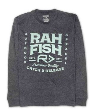 RAHFISH RAHFISH MENS BOMBORA LONG SLEEVE SHIRT