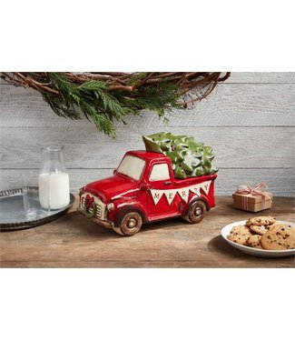 MUD PIE MUDPIE FARMHOUSE TRUCK COOKIE JAR