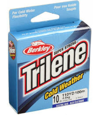 TRILENE ICE COLD WEATHER 10lb 110YD ELECTRIC BLUE