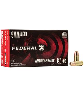 FEDERAL AMMO Federal 9mm 147gr FMJ FP