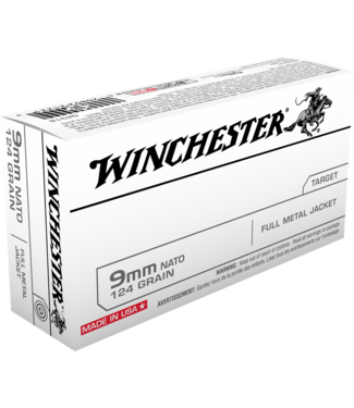 WINCHESTER Winchester 9mm 124gr. FMJ
