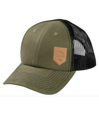 GREEN CHINO MESH HAT
