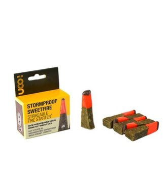 UCO STORMPROOF SWEETFIRE - STRIKEABLE MATCHES - 8 PACK