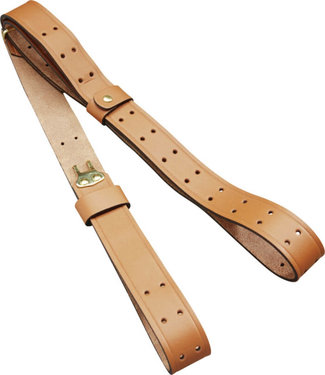 """BUTLER CREEK LEATHER MILITARY SLING AND CARRY STRAP [1""""x44""""]"""