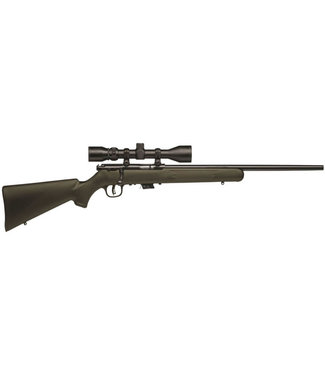 "SAVAGE SAVAGE MK II FXP w/ 3-9x40MM Scope 22LR 21"" BBL"