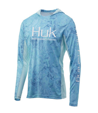 HUK GEAR HUK MEN'S ICON X CURRENT CAMO HOODIE