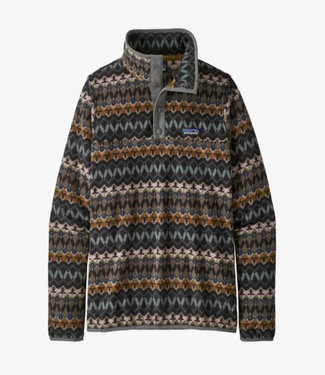 PATAGONIA WOMENS MICRO D SNAP-T SWEATER