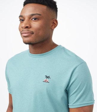 TENTREE Tentree Palm Sunset Embroidery T-Shirt