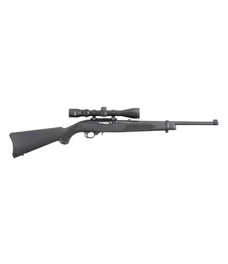 "RUGER RUGER 10/22 CARBINE w/ VIRIDIAN EON 3-9X40MM SCOPE 22LR 18.5"" BBL"