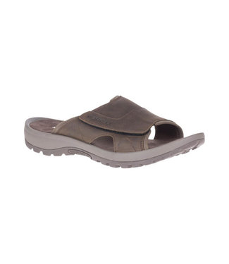 MERRELL MERRELL MEN'S SANDSPUR SLIDE LEATHER SANDAL