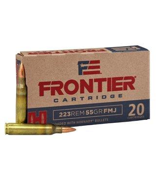 HORNADY Frontier 223REM 55GR FMJ