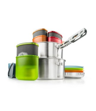 GSI OUTDOORS GSI GLACIER STAINLESS CAMPER COOKSET