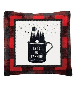 CARSTENS  LETS GO CAMPING PILLOW