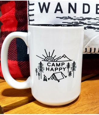 PEAKTIME TRADING CORP. Camp Happy Happiness Mug