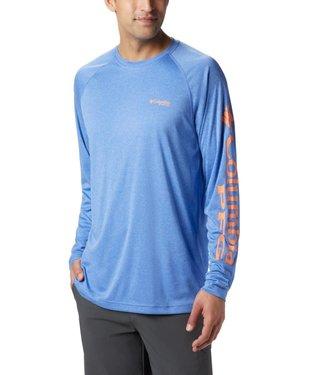Columbia Men's PFG Terminal Tackle™ Heather Long Sleeve Shirt