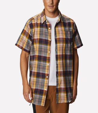 COLUMBIA Columbia Men's Under Exposure™ Yarn-Dye Short Sleeve Shirt