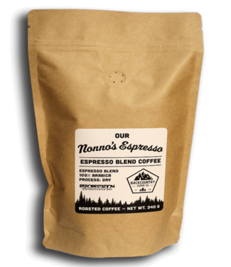 BACKCOUNTRY COFFEE BACKCOUNTRY COFFEE NONNO'S ESPRESSO