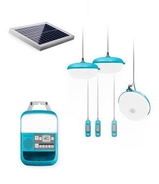 BIOLITE Biolite SolarHome 620 Solar-Powered Light, Charging & Radio