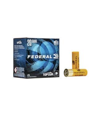 """Federal Premium Top Gun Target Load 20GA 2.75"""" 7/8OZ #7.5 [ 1210 FPS] [250RND BULK CASE]"""